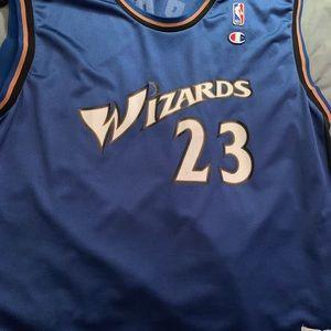 Michael Jordan Washington Wizards champion jersey